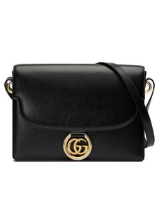 Gucci Medium GG Ring Leather Shoulder Bag