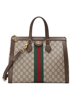 Gucci Medium Ophidia GG Supreme Canvas Satchel