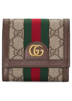 Gucci Medium Ophidia GG Supreme Canvas Wallet