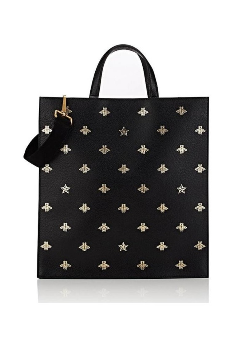 3d39d198 Men's Bee-Print Leather Tote Bag