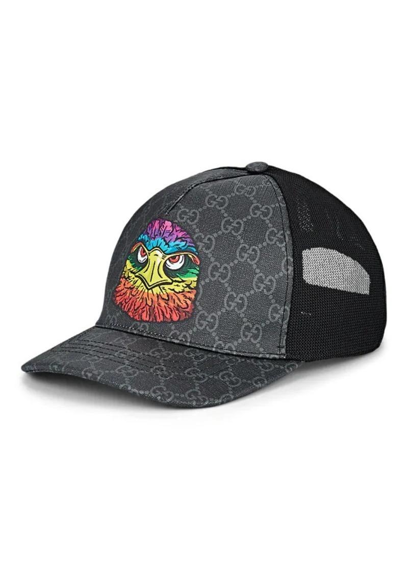 18d71320a Gucci Gucci Men's Coated Canvas & Mesh Trucker Hat | Misc Accessories