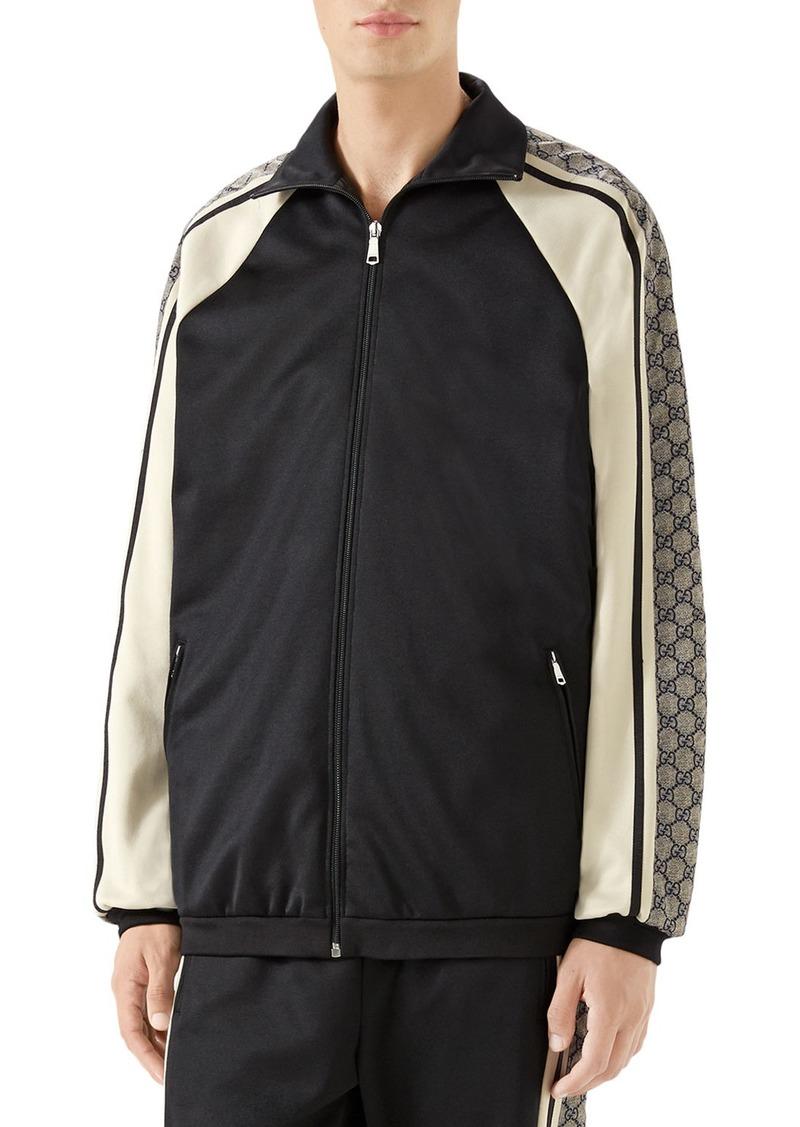 6f09092d9 Gucci Gucci Men's GG Logo Track Jacket | Outerwear
