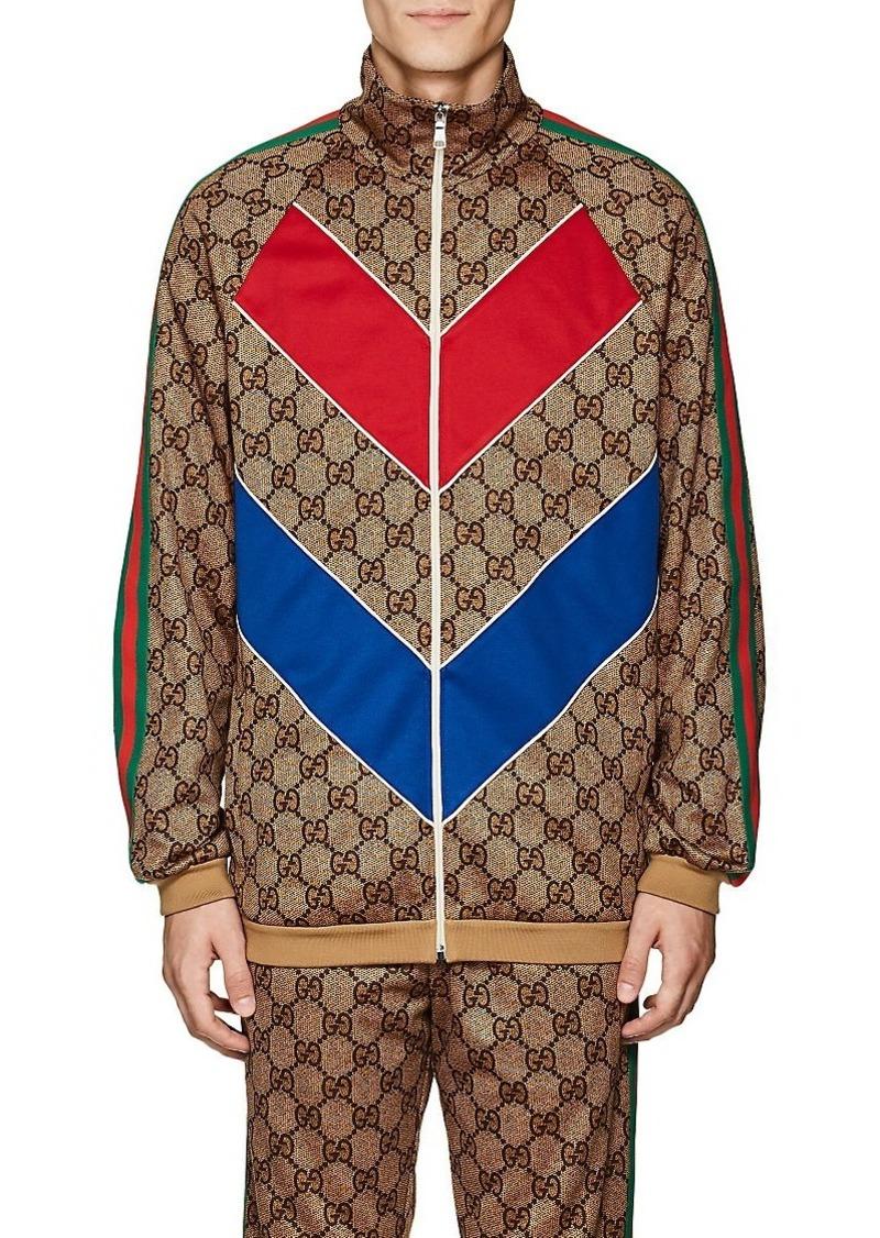 f1e011aba66 Gucci Gucci Men s GG-Print Oversized Track Jacket