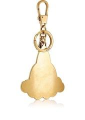 966737cfa3e Gucci Gucci Men s GG Supreme Rocket Key Chain - Gold