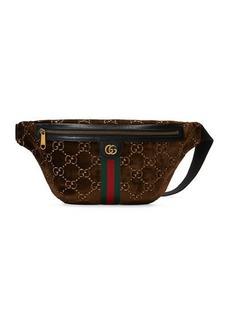 Gucci Men's GG Velvet Belt Bag