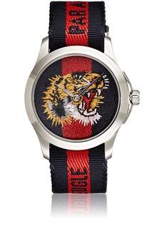 Gucci Men's Le Marché des Merveilles Stainless Steel Watch - Navy
