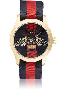 Gucci Men's Le Marché Des Merveilles Watch - Navy