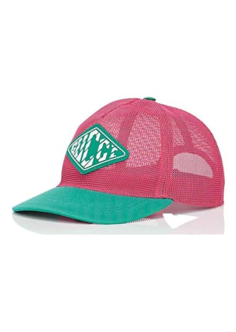 8a2dfe48004 Gucci Gucci Men s Logo Mesh Baseball Cap
