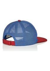 487fc1c55ec Gucci Men s Logo Mesh Baseball Cap Gucci Men s Logo Mesh Baseball Cap