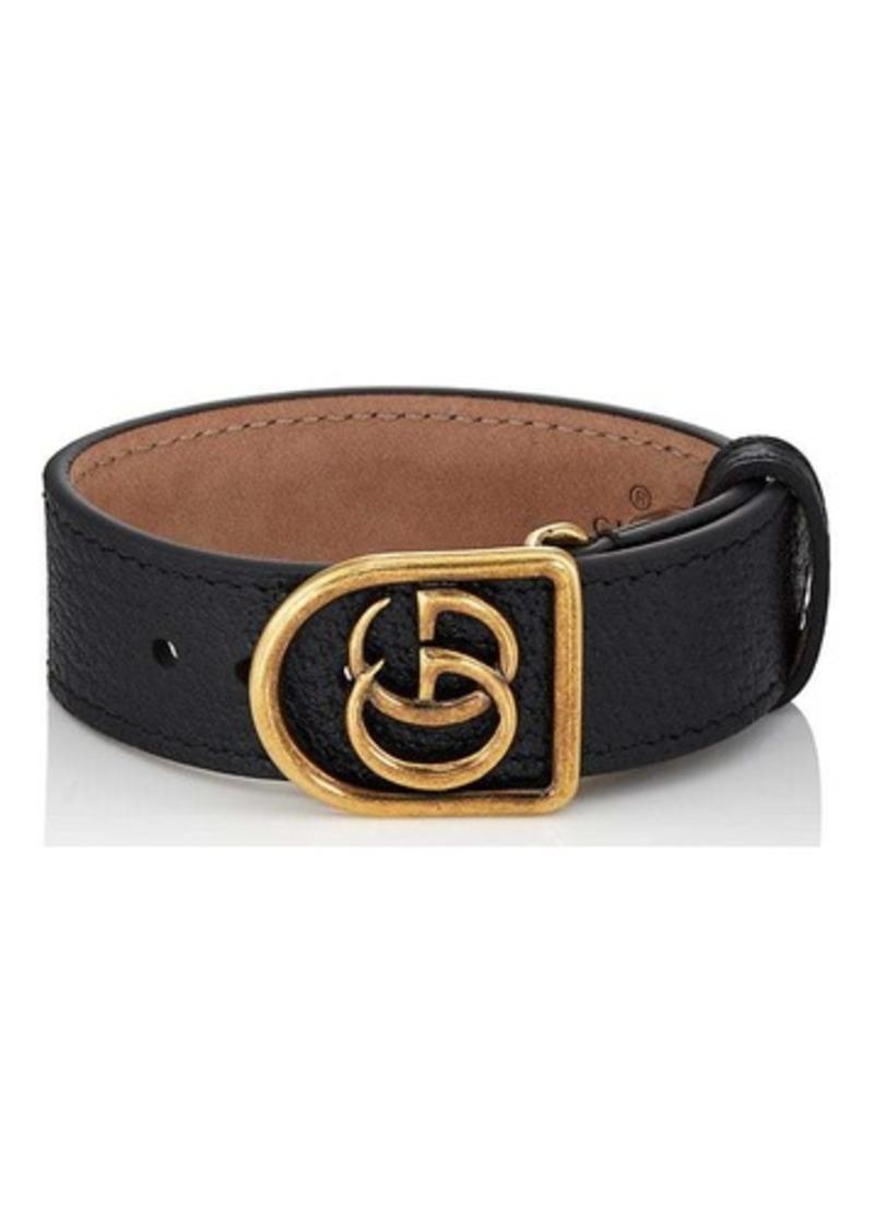 Gucci Men S Marmont Leather Bracelet