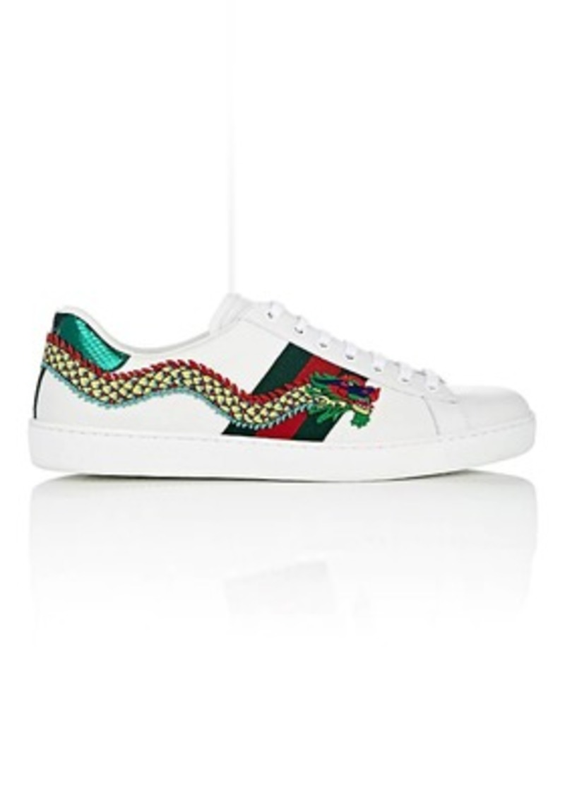 421549a502d Gucci Gucci Men s New Ace Leather Sneakers