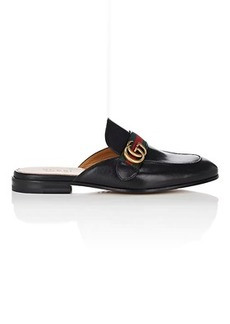 Gucci Men's New Kings Leather Slippers