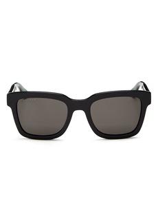 Gucci Men's Polarized Square Sunglasses, 52mm