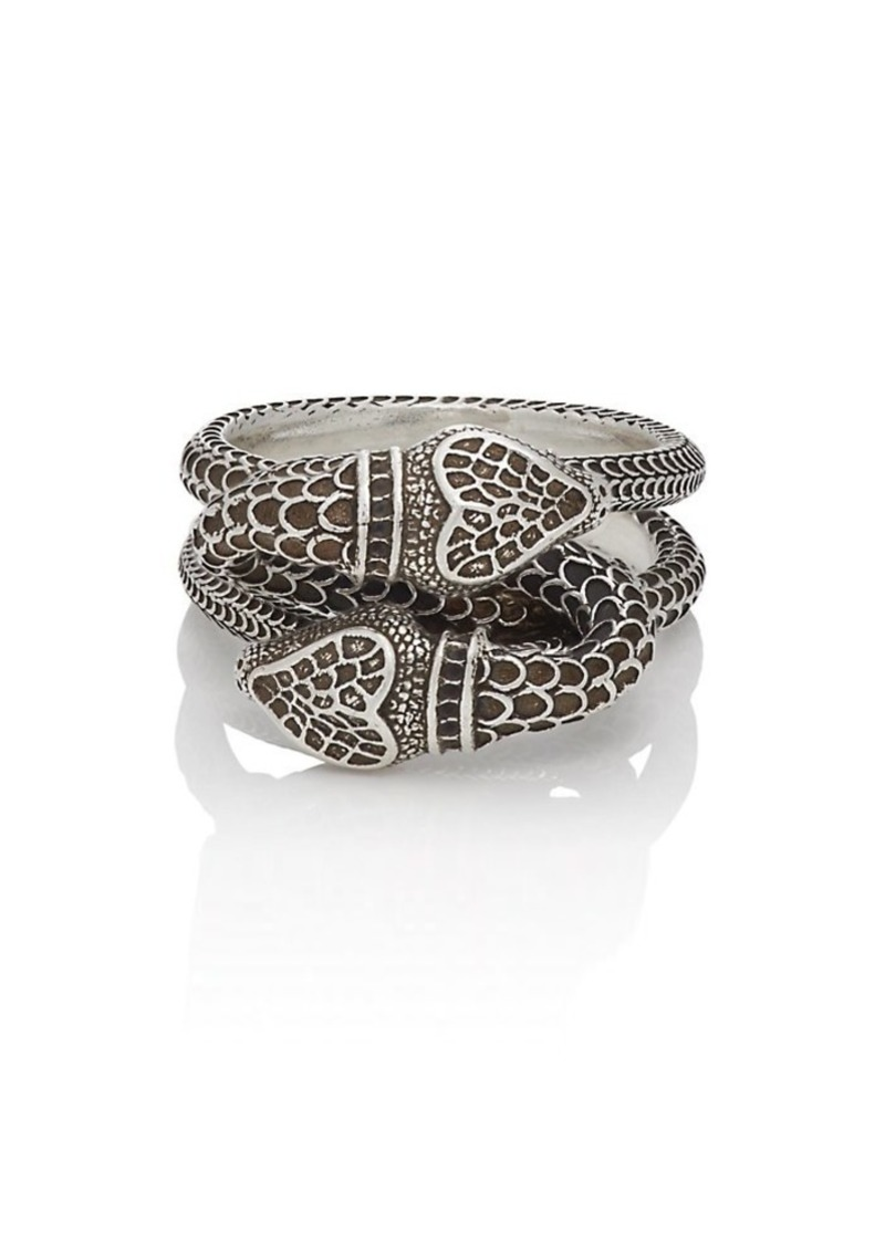 1b53febc3 Gucci Gucci Men's Snake Ring - Silver | Misc Accessories