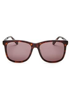 Gucci Men's Square Sunglasses, 58mm