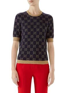 Gucci Metallic GG Sweater