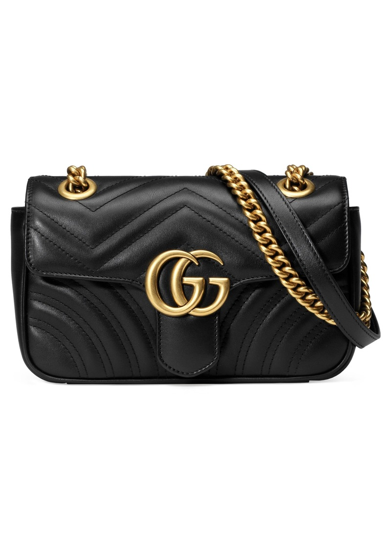 6fa7063ec0c9a6 Gucci Gucci Mini GG Marmont 2.0 Matelassé Leather Shoulder Bag ...