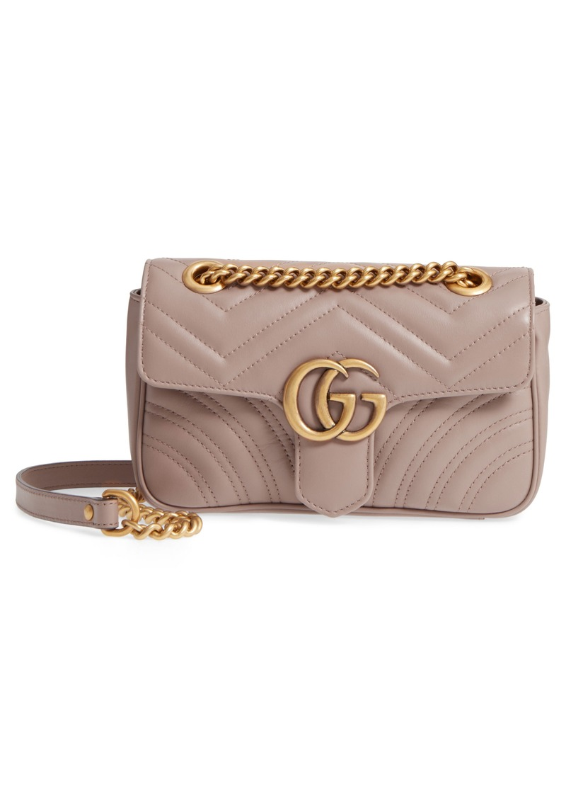 31c56d5b3caa Gucci Gucci Mini GG Marmont 2.0 Matelassé Leather Shoulder Bag ...