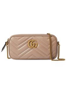 Gucci Mini GG Marmont 2.0 Matelassé Leather Crossbody Bag