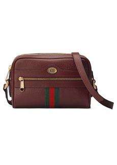 Gucci Mini Ophidia Mini Leather Crossbody Bag