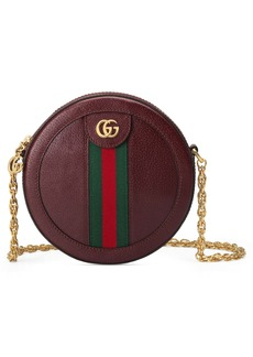 Gucci Mini Ophidia Round Leather Bag