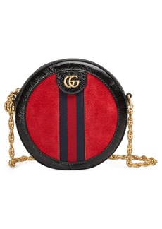 Gucci Mini Ophidia Round Shoulder Bag