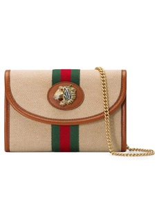 Gucci Mini Rajah Canvas Crossbody Bag