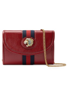 Gucci Mini Rajah Leather Crossbody Bag
