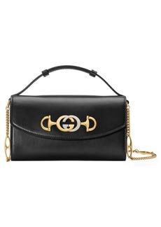 Gucci Mini Zumi Leather Shoulder Bag