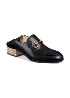 Gucci Crystal Convertible Loafer (Women)