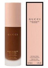 Gucci Natural Finish Fluid Foundation