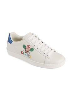 Gucci New Ace Embroidered Tennis Sneaker (Women)