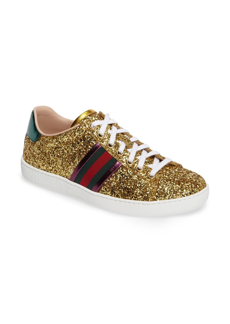 Gucci Gucci New Ace Glitter Sneaker (Women)  a75029b19