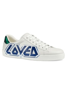 Gucci New Ace Graffiti Loved Sneaker (Men)