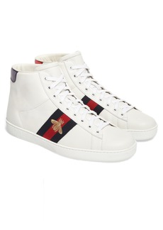 Gucci New Ace High Top Sneaker (Men)