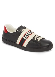 Gucci Stripe Leather Sneaker (Men)