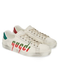 Gucci New Ace Logo Sneaker (Men)
