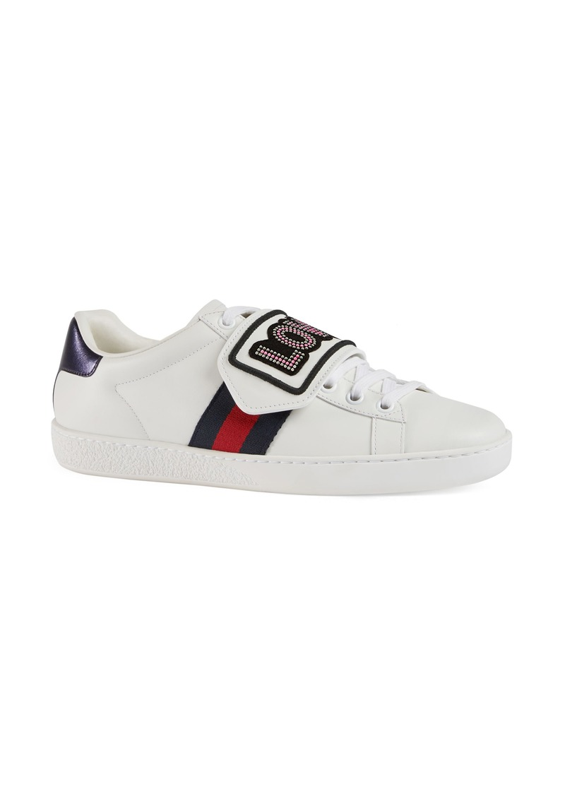 9008b30ee0a Gucci Gucci New Ace Loved Sneaker (Women)