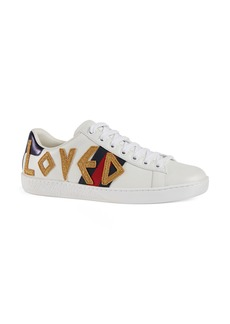 Gucci New Ace Loved Sneakers (Women)