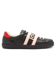 Gucci New Ace low-top leather trainers