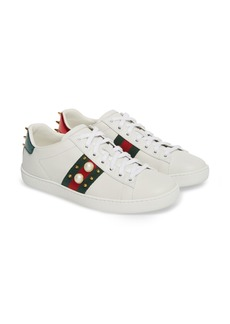 Gucci New Ace Low Top Sneaker (Women)