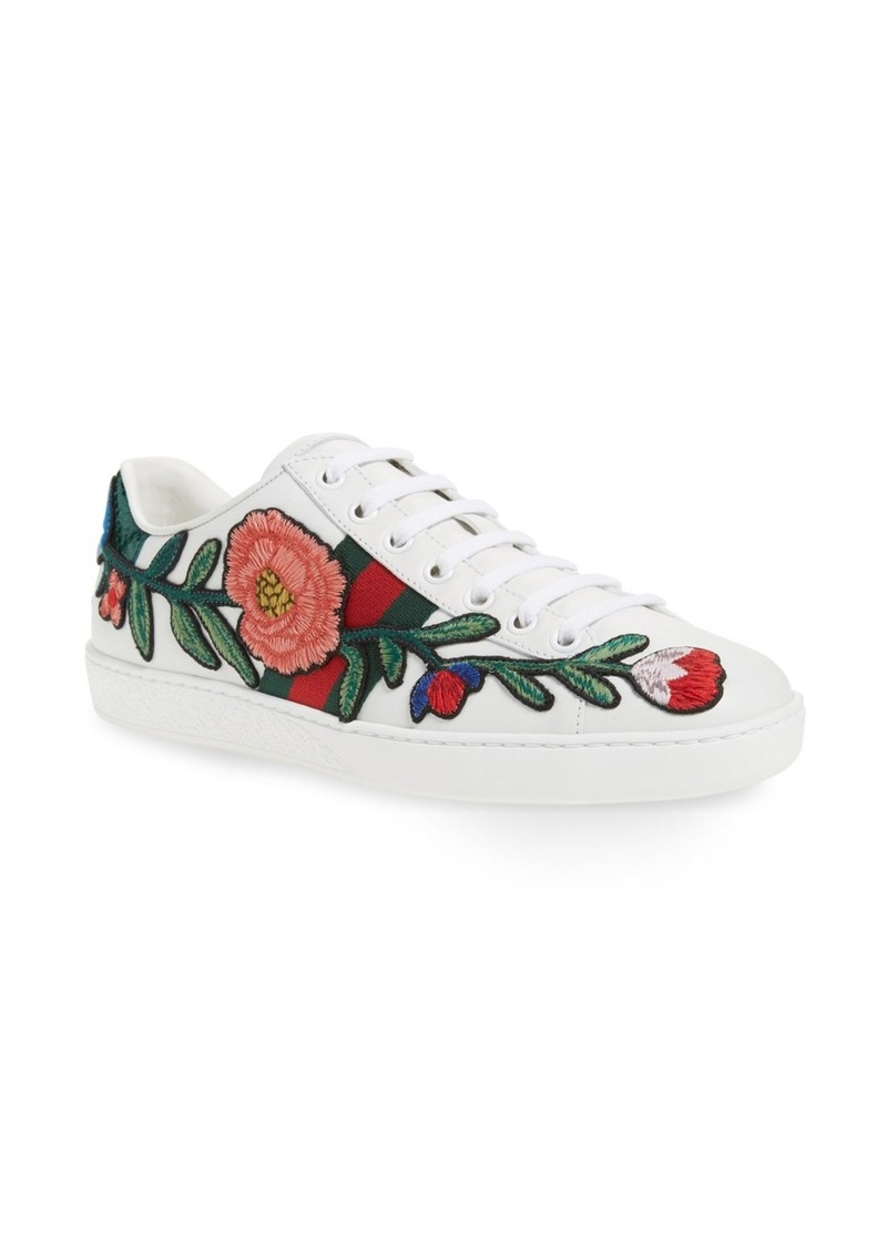 8580af0a7 Gucci Gucci New Ace Low Top Sneaker (Women) | Shoes