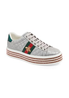 Gucci New Ace Platform Sneaker (Women)