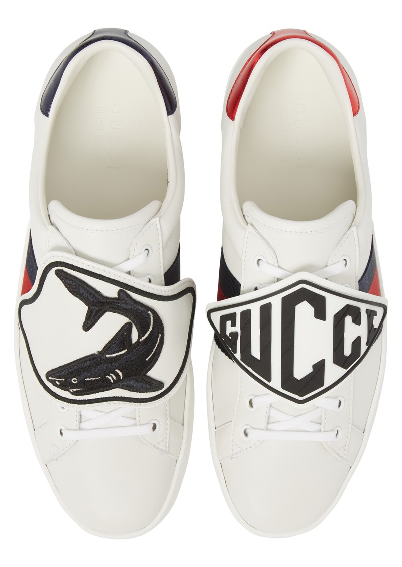 84383fecea9 Gucci Gucci New Ace Patch Sneaker (Men)