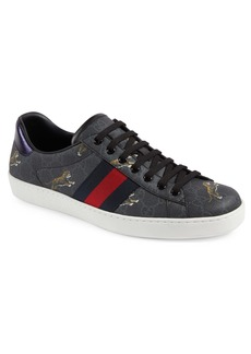 Gucci New Ace Tiger Print GG Supreme Sneaker (Men)