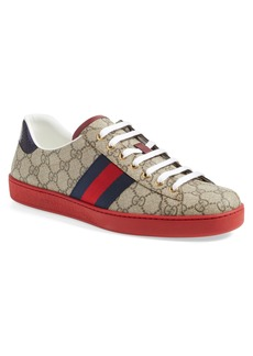 Gucci New Ace Webbed Low Top Sneaker (Men)