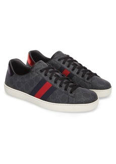 Gucci New Ace GG Supreme Low Top Sneaker (Men)