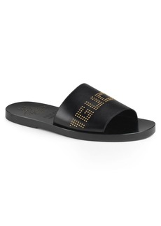 Gucci Studded Slide Sandal (Men)