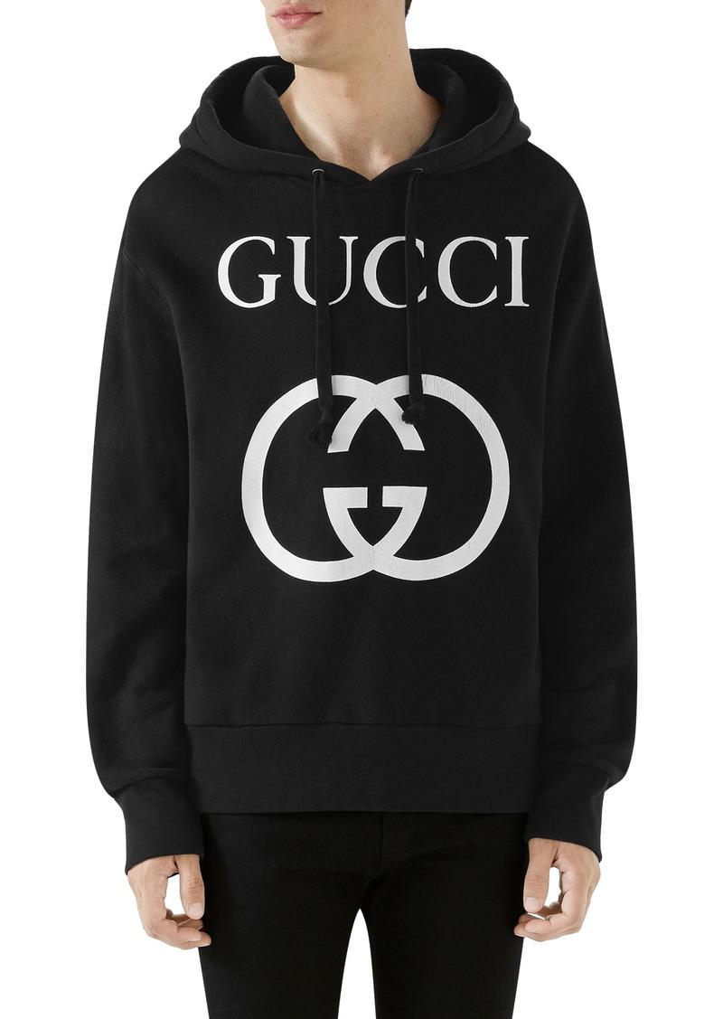Gucci New Logo Cotton Hoodie