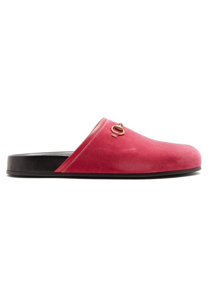 783e439c181 Gucci Gucci New River velvet loafers